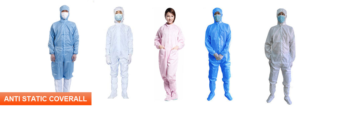 Anti Static Coverall Manufacturers in United states