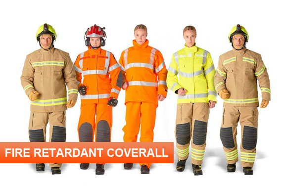 Fire Retardant Coverall Manufacturers in Myanmar