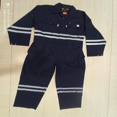 Black Proban Fire Retardant Coverall