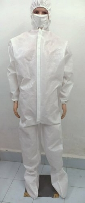 Disposable Coverall Without Tape